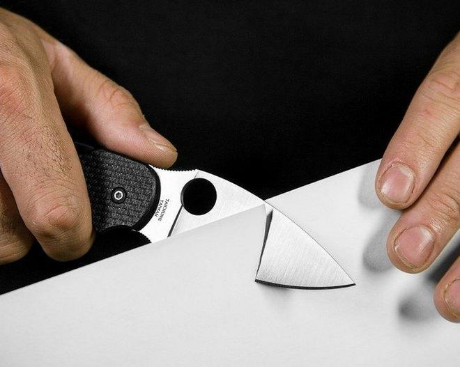 Проверка остроты ножа в домашних условиях