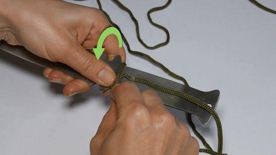 Плетение паракорда