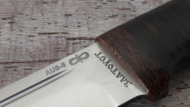 Нож из AUS-8