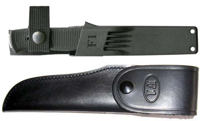 Ножны для ножа Фалкнивен Ф1 пластиковые и кожаные