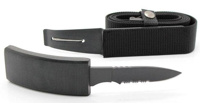 Нож ремень Гризли скрытого ношения