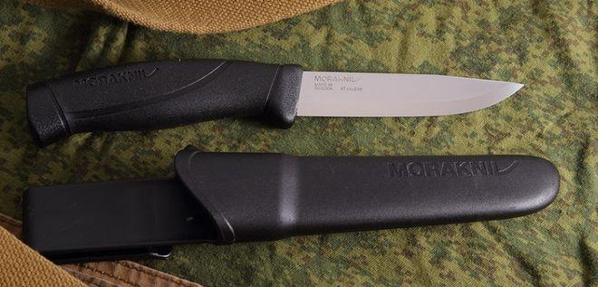 Нож mora companion с ножнами