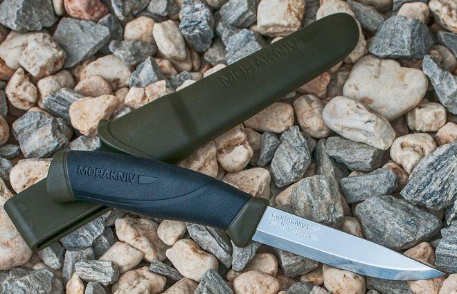 Скандинавский нож мора компаньон с ножнами