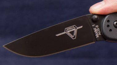 Клинок ножа Онтарио Рат 1