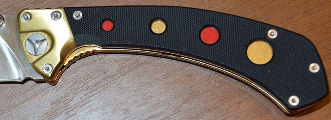 Рукоять ножа К781 VOSTOK от Viking Nordway Steel 440