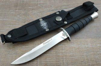 Нож Адмирал 2 с ножнами