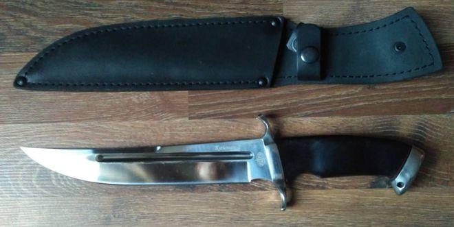 Кайман 2 нож с ножнами