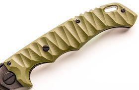 Рукоять ножа Кугуар сталь AUS8