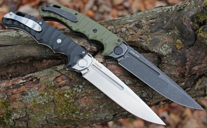 Нож Кугуар Нокс сталь D2 и AUS8