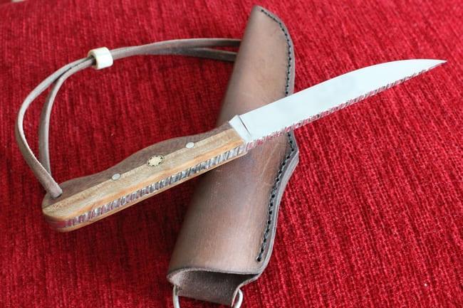 Нож из нержавейки
