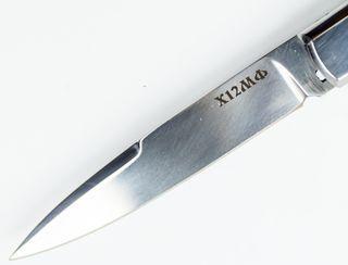 Клинок ножа Флинт из стали D2