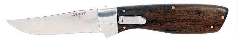 Выкидной нож Флинт SA502 с флажковым механизмом
