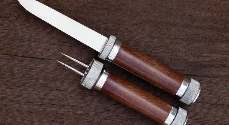 Частично разобранный нож Фортель