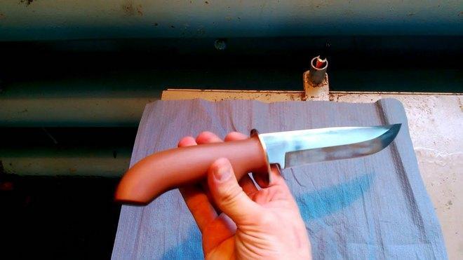 Нож из стали 30х13