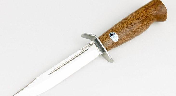Нож Штрафбат с деревянной рукоятью из стали 100Х13М