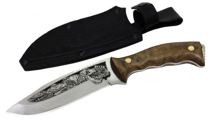 Нож Волк сталь 65х13 Кизляр