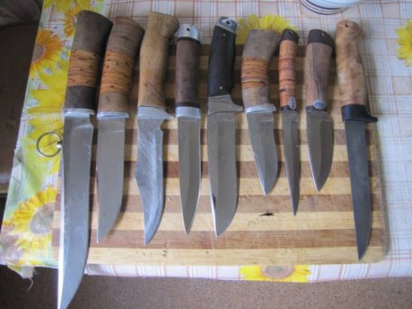 Охотничий нож своими руками.