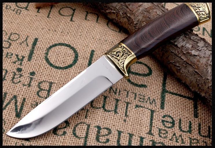 как затачивать охотничий нож.