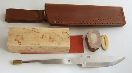 как сделать охотничий нож.