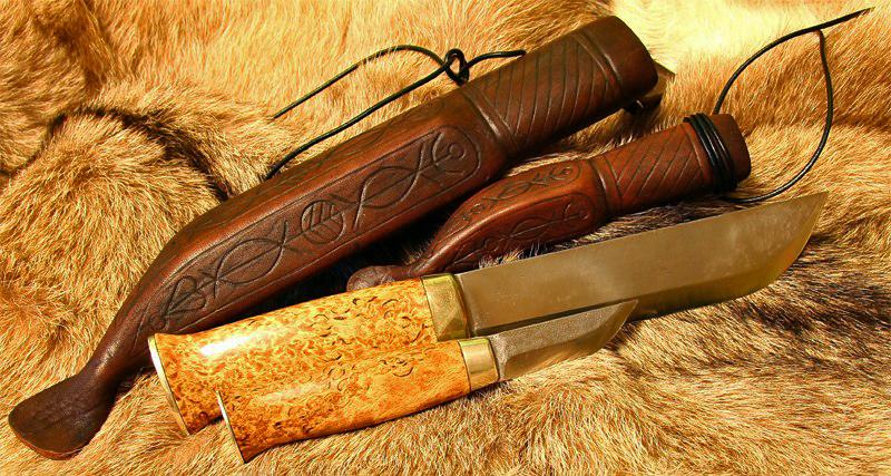 сканди спуски: скандинавские ножи.