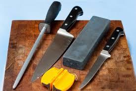 как заточить кухонный нож.