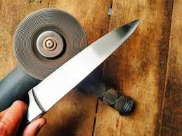 как заточить ножи болгаркой.