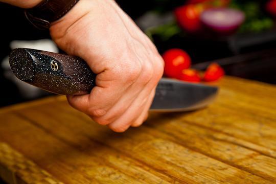 как правильно пользоваться ножом.
