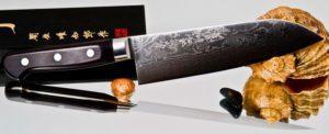 японский нож Hattori.