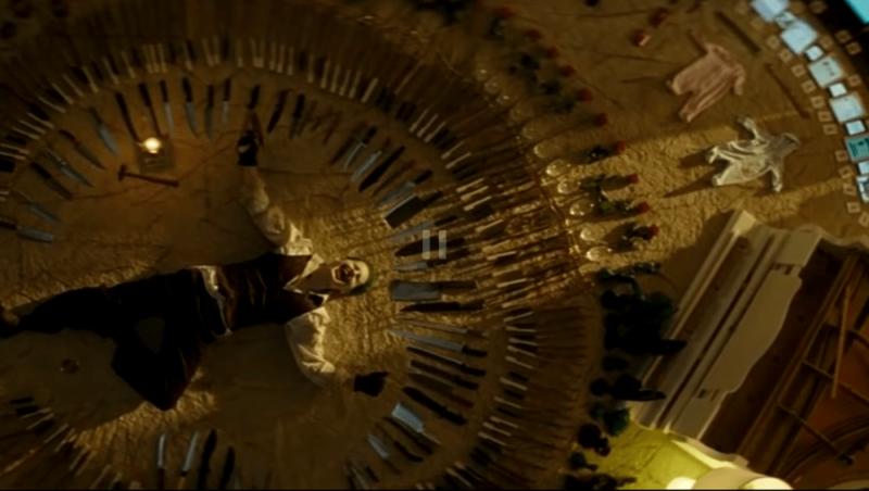 """Кадр из фильма """"Отряд самоубийц""""."""
