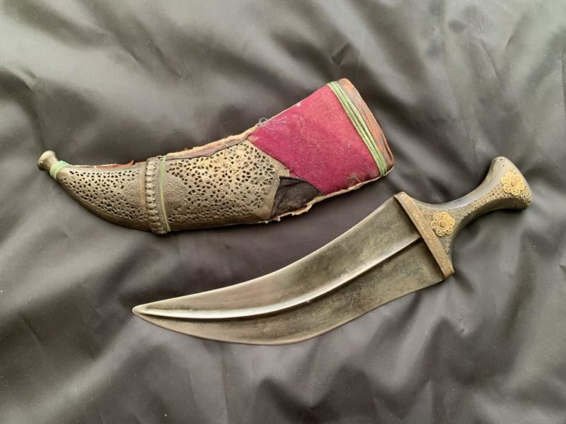 нож джамбия.