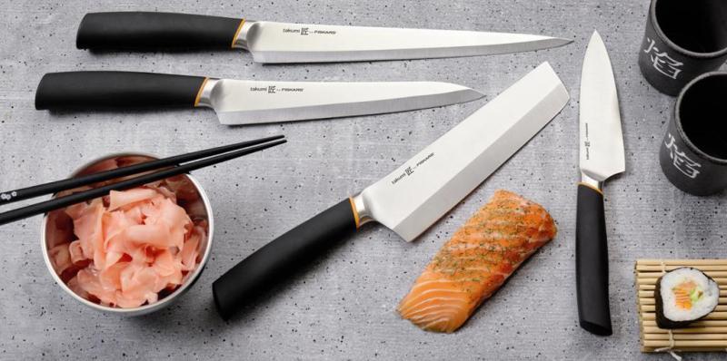 японские кухонные ножи.
