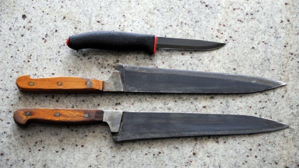 воронение ножа своими руками.