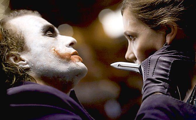 нож джокер в кино.