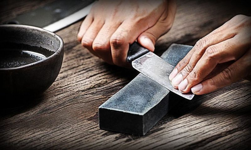 станок для заточки ножей.
