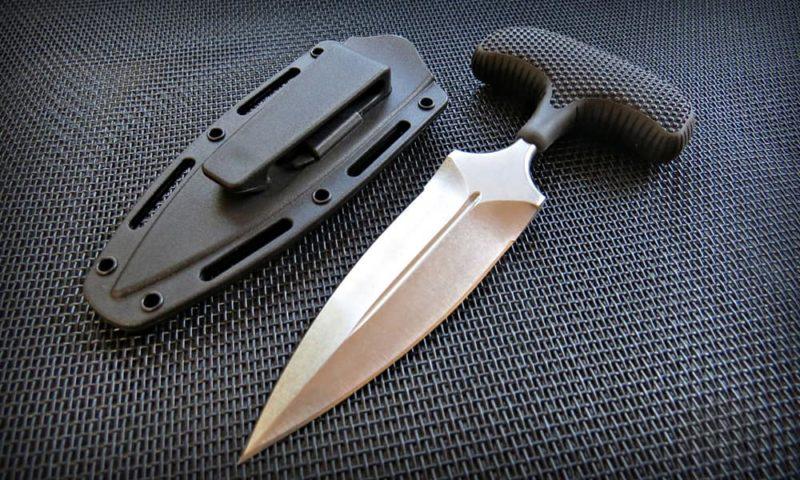 тычковый нож.