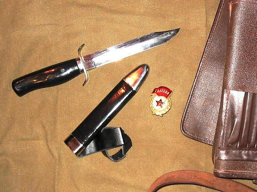 нож разведчика.