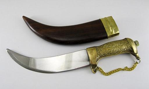 традиционный нож кирпан.