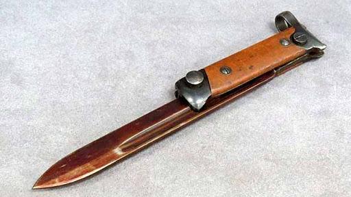 штык нож италии.