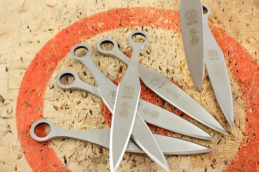 кунай: как сделать метательный нож.