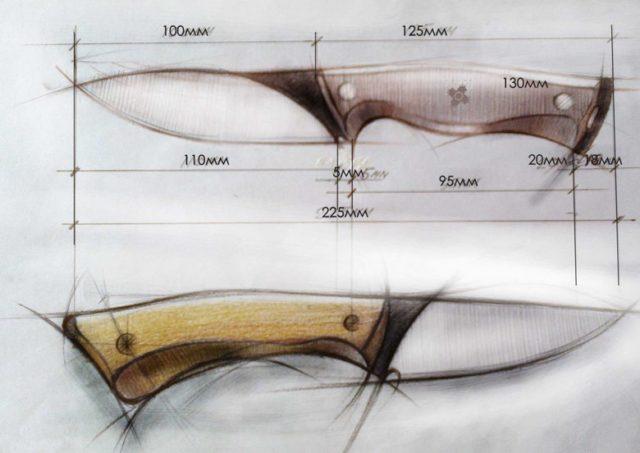 нож для охоты своими руками.