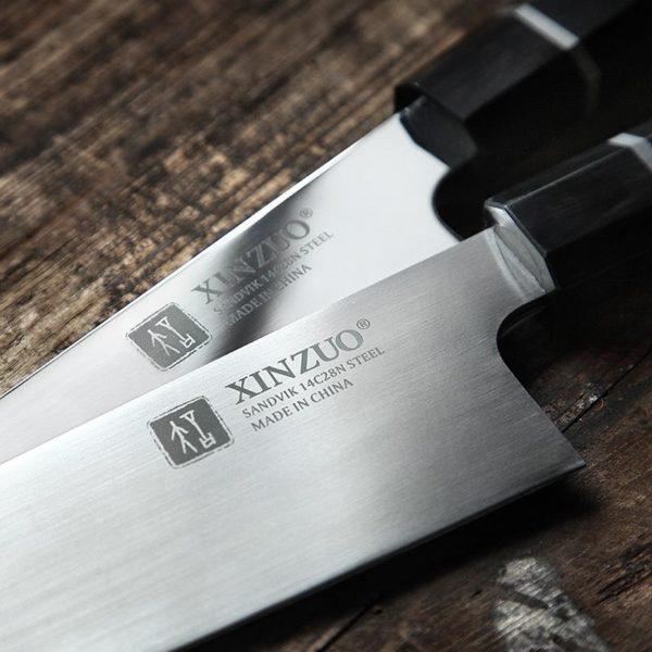 Нож их стали Sandvic 14c28n.