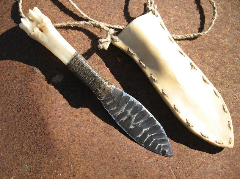что такое нож из кости.