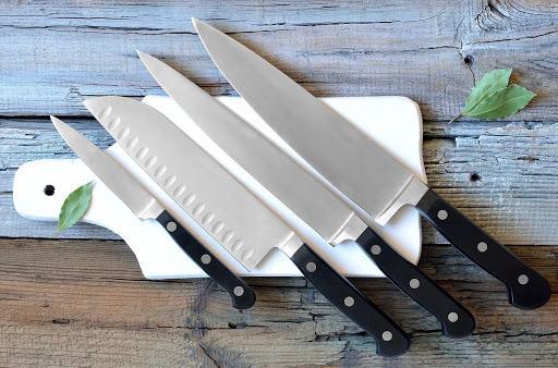 лучшие кухонные ножи.