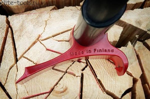 Финский топор со смещенным центром тяжести.