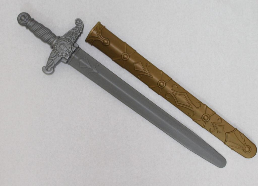 Ножны для меча из пластика.