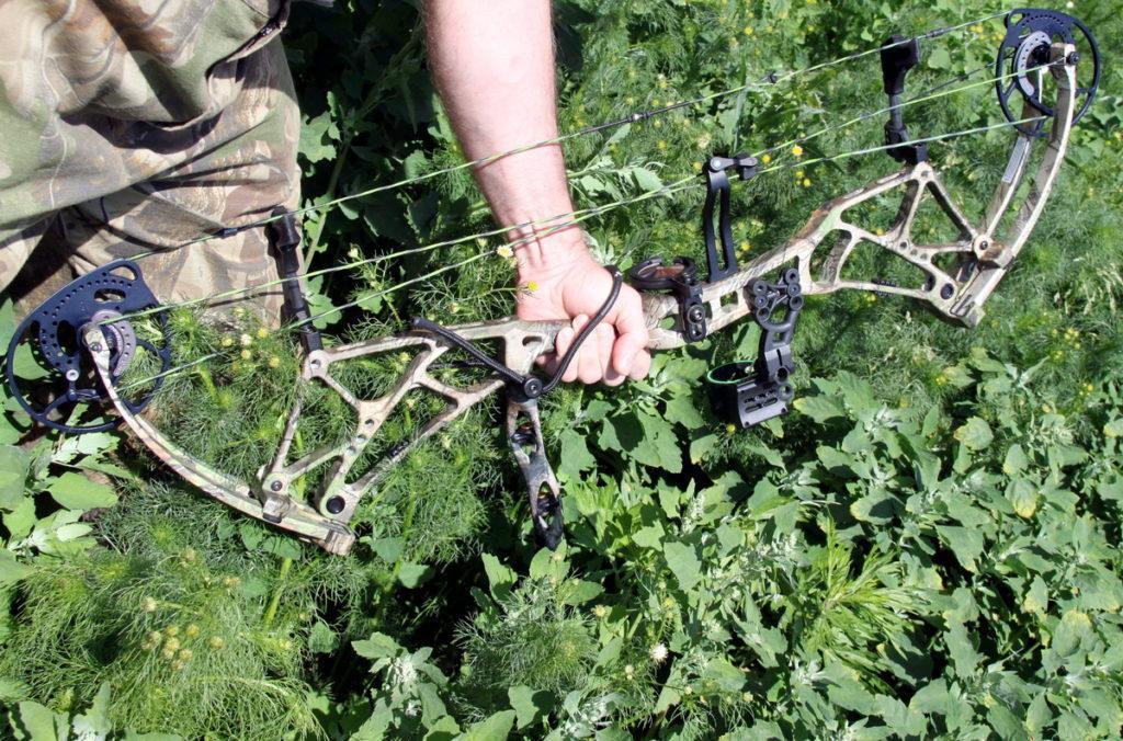 Блочный лук Bear Archery 2015.