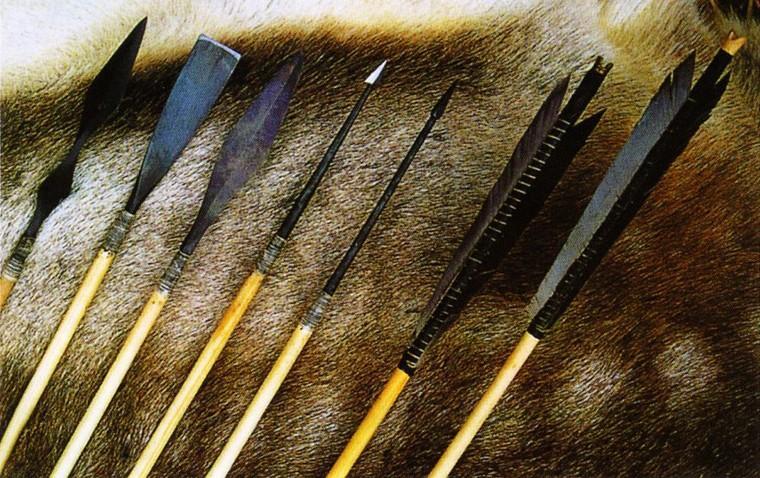 Как сделать стрелы для лука.