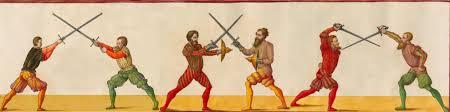 Фехтование на мечах.