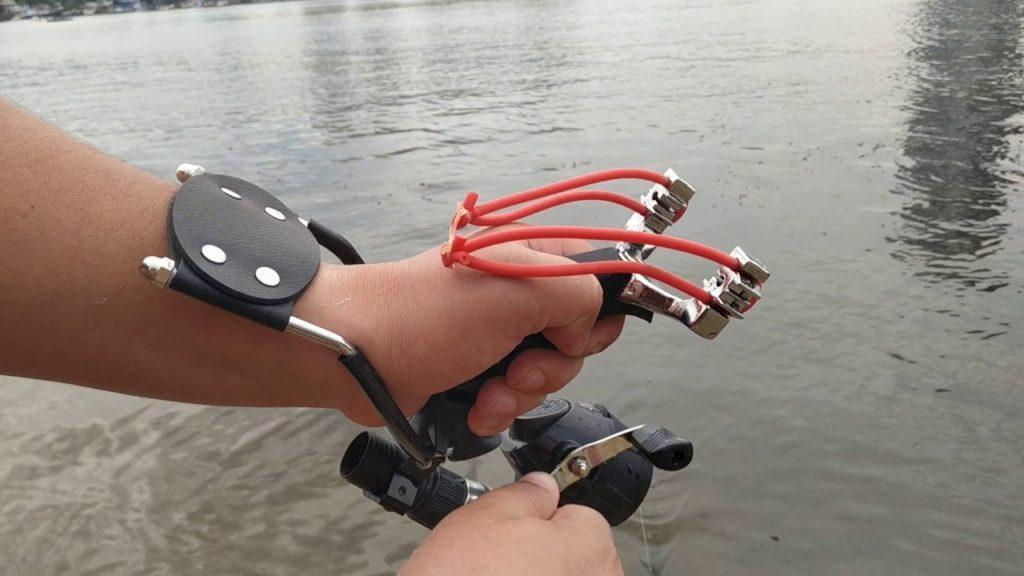 Рогатка для рыбалки.