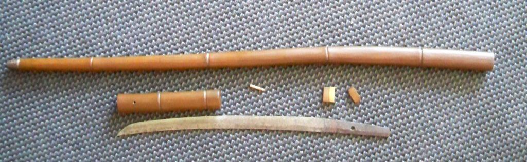 Скрытый нож сикомидзуэ.